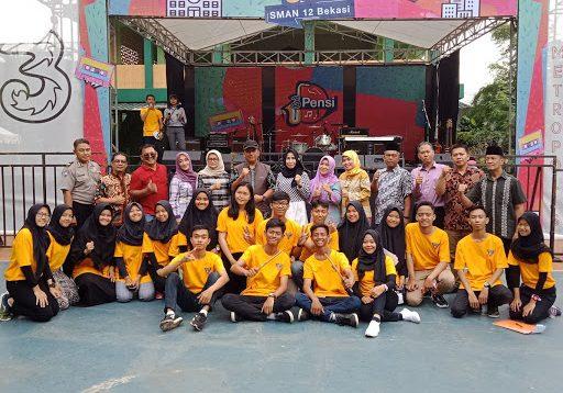 Pentas Seni SMA Negeri 12 Kota Bekasi