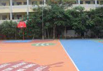 Lapangan Basket SMA Negeri 12 Kota Bekasi